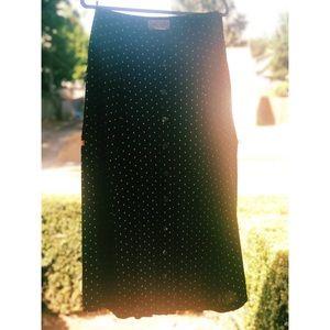 1990 Vintage Street Wear Carole Little Maxi Skirt